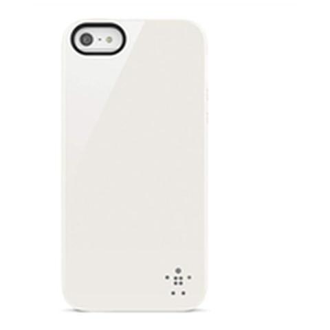 BELKIN Cover Grip Gloss per iPhone 5/5S - Bianco