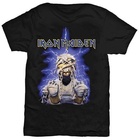 ROCK OFF Iron Maiden - Power Slave Mummy (t-shirt Unisex Tg. S)