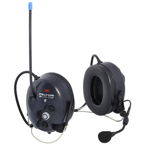 Cuffia Antirumore 3m Peltor Litecom Ws Bluetooth - Contorno Nuca