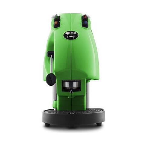 Frog Macchina da Caffe in Cialde Revolution Base Potenza 650W Colore Verde