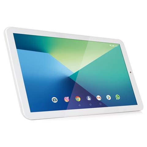 Tablet Zelig Pad 412W Bianco 10.1'' HD Quad Core RAM 2GB Memoria 16 GB +Slot MicroSD Wi-Fi...
