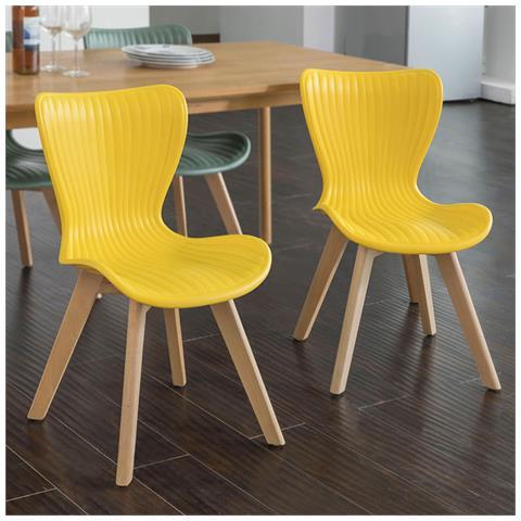 SoBuy - Set 2 Sedie Moderno Da Sala Da Pranzo, sedie Cucina Sedie ...