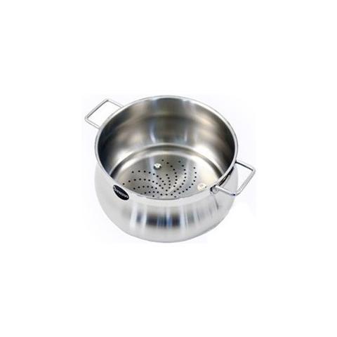 Barazzoni Colapasta Vapocuoci Tummy Acciaio Inox 22 Cm Colare E Cucinare