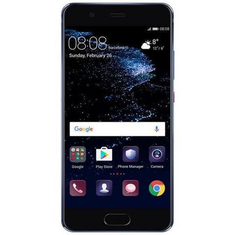 "HUAWEI P10 Blu 64 GB 4G / LTE Display 5.1"" Full HD Slot Micro SD Fotocamera 20 Mpx Android Europa"