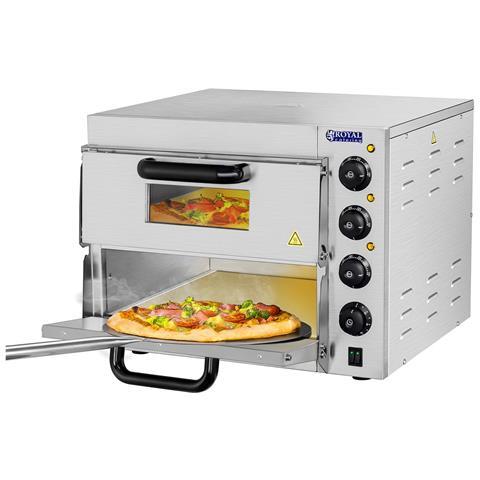 Forno Per Pizza - 2 Compartimenti - Piastre In Argilla Refrattaria