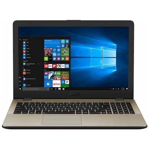 """ASUS Notebook VivoBook 15 X542UR Monitor 15.6"""" HD Intel Core i7-7500U Ram 4GB Hard Disk 1TB SSD 128GB Nvidia GeForce 930MX 2GB 1xUSB 3.1 2xUSB 3.0 Windows 10 Home"""