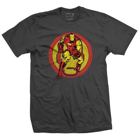 ROCK OFF Marvel Comics - Iron Man Dual (T-Shirt Unisex Tg. XL)