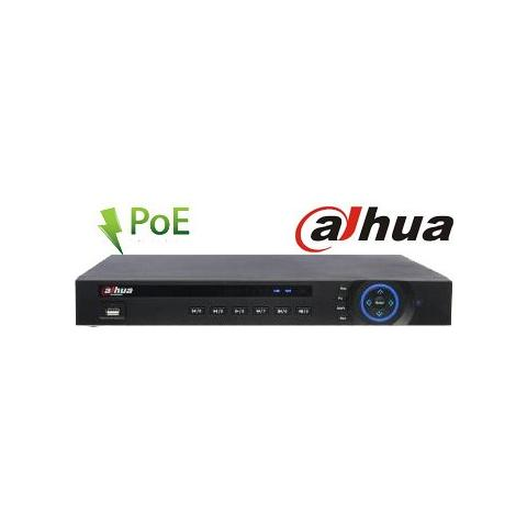 Image of Nvr 8 Canali Ip - 5mpx - 2hd Dahua 8 Porte Poe - Outlet