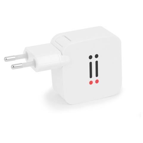 AIINO Alimentatore da muro 2 USB 2,1A - Bianco