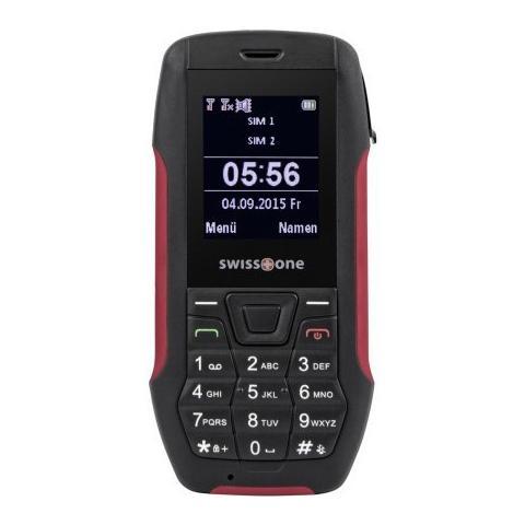 "SWISSTONE SX 567 Dual Sim Display 1.77"" +Slot MicroSD Bluetooth Fotocamera Colore Rosso"