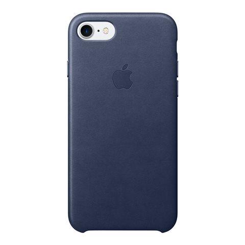 APPLE iPhone 7 Cuoio custodia Midnight blu