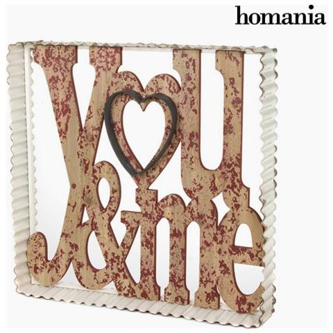 Homania Cornice Di Metallo You&me By