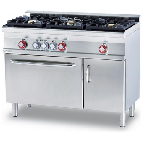 Cucina A Gas Professionale Afp / Cfm3-612gemv