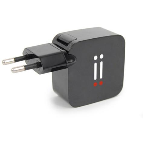 AIINO Apple Alimentatore da muro 2 USB 2,1A - Nero