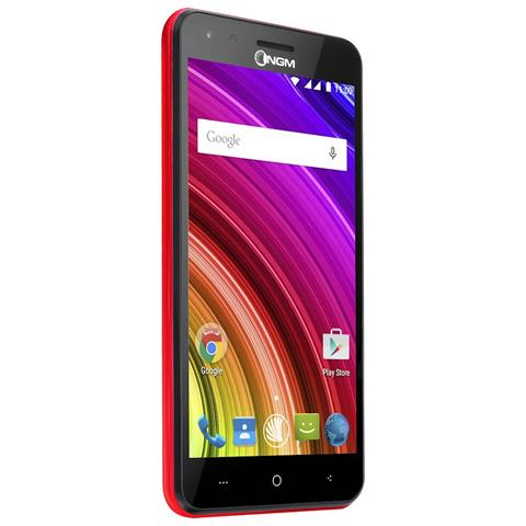 You Color E505 Plus Rosso 16GB 4G / LTE Dual Sim Display 5'' Slot MicroSD Fotocamera 8Mpx Android - Italia