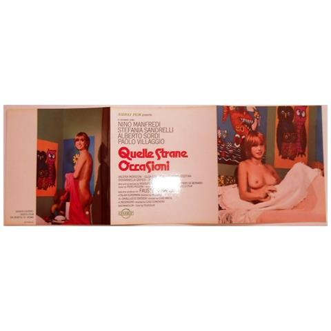 Vendilosubito Brochure Originali Del Film Quelle Strane Occasioni 1976