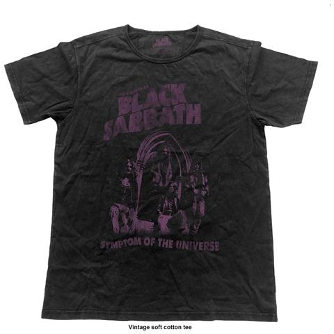 ROCK OFF Black Sabbath - Symptom Of The Universe (Vintage Finish) (T-Shirt Unisex Tg. XL)