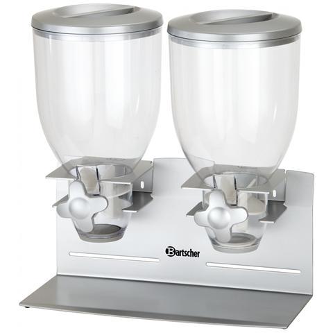 Dispenser erogatore di cereali a 2 campane da 3,5 litri 500378