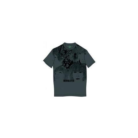ROCK OFF Beatles (The) - Revolver Grey (T-Shirt Unisex Tg. 2XL)