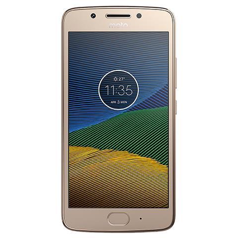"MOTOROLA Moto G5s Oro 32 GB 4G / LTE Dual Sim Display 5.2"" Full HD Slot Micro SD Fotocamera 16 Mpx Android Italia"