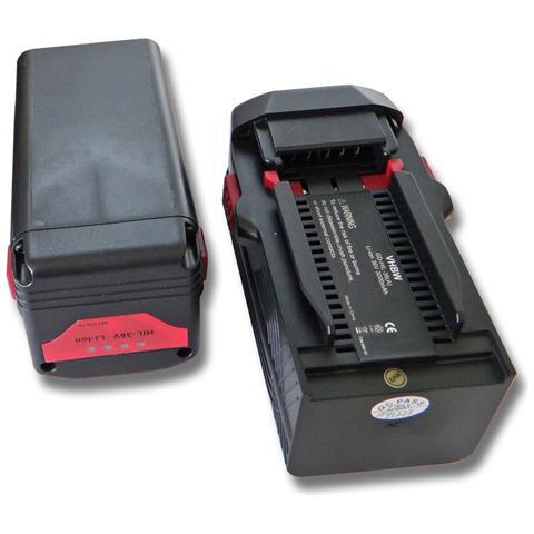 2x Li-ioni Batterie 3000mah (36v) Per Apparecchio Hilti Te6a, Te 6a, Te7a Come Hilti B36,...