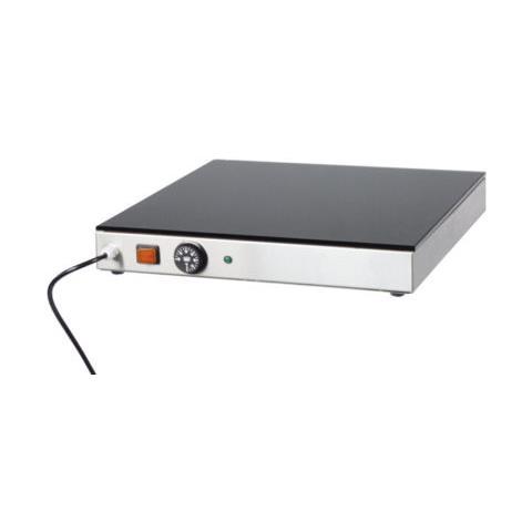 Piano Caldo Vetro Temperato Pizza Cm 60x40x7 Rs1680