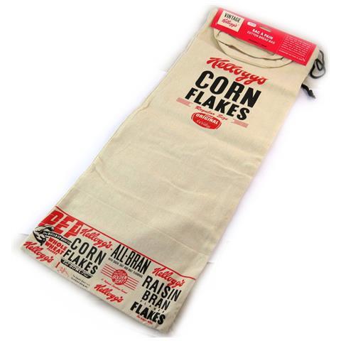 Kellogg's sacchetto del pane '' rosso beige - [ n2124]
