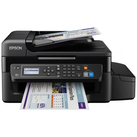 Image of EcoTank ET-4500 Stampante Multifunzione Stampa Copia Scansione Fax InkJet a Colori A4 33 Ppm (B / N) 15 Ppm (Colore) Usb WiFi