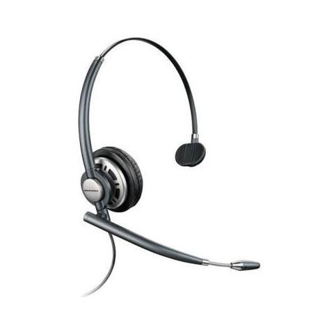 Cuffia Monoaurale con Microfono Nero Filo 100 - 6800 Hz 150 Ohm 24 dB 78712-102