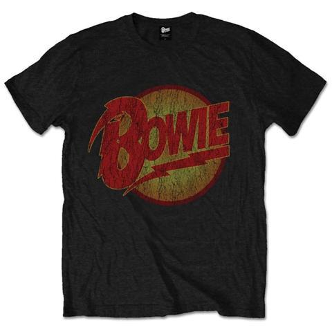 ROCK OFF David Bowie - Thunder (T-Shirt Unisex Tg. XL)
