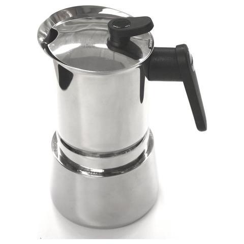 Caffettiera 10 Tazze Induction Steel Moka Acciaio Inox 18/10. Adatta A Tutti I Piani Cottura - 02cf039