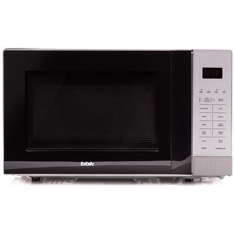 Forno A Microonde Con Grill, Digitale Controllo, 20 Litri, 700 Watts, Grigio, 20mwg-736s / bs
