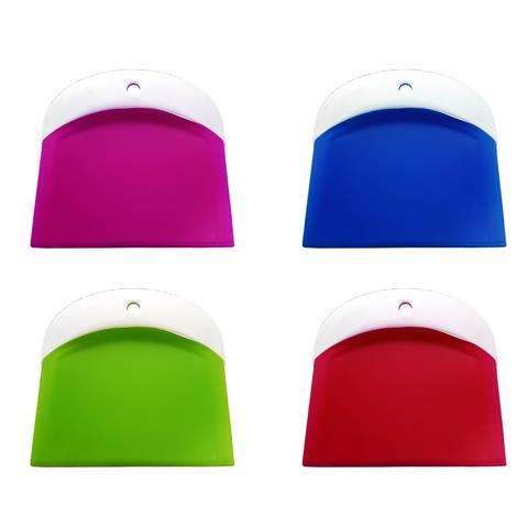 Set 2 Pezzi Spatole Spatola Raschietto Compatta Per Dolci In Plastica Crema Cake Design Decorazioni Colore Casuale