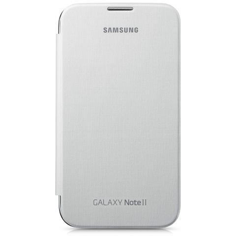 SAMSUNG Flip Cover Custodia per Galaxy Note 2 Colore Bianco