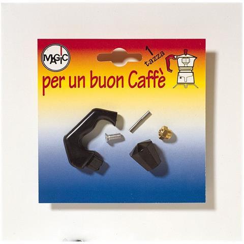 Manico Valvola E Pomello Per Caffettiera 1 Tazza