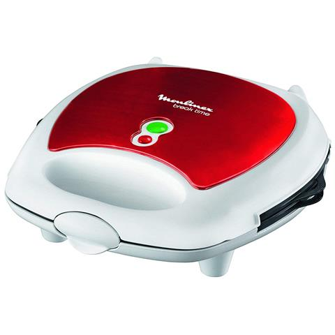 SW6125 Red Ruby Piastra per Panini 3 in 1 700 W Rosso / Bianco