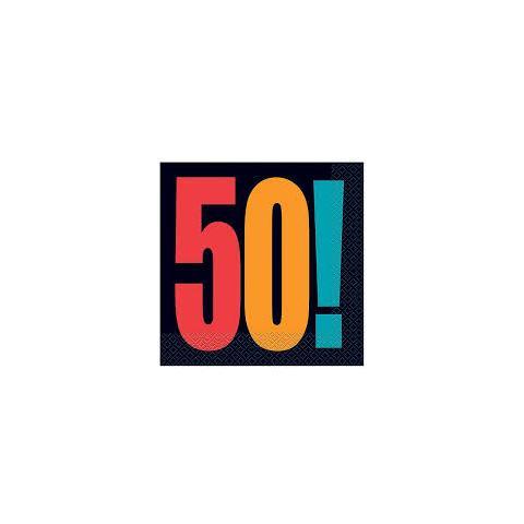 Tovaglioli Con Numero 50