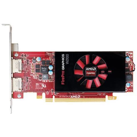 Image of AMD FirePRO W2100 2 GB GDDR3 Pci-E 2 x Display Port