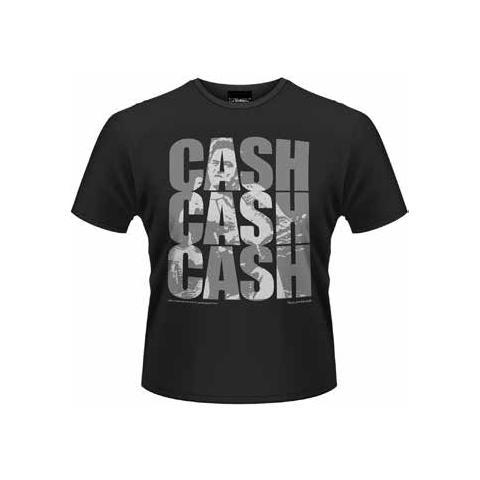 PLASTIC HEAD Johnny Cash - Cash Cash Cash (T-Shirt Unisex Tg. S)