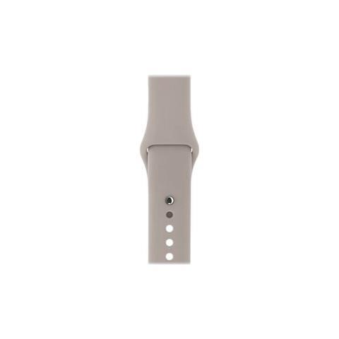 APPLE Cinturino Sport grigio pomice (42 mm) - S / M e M / L