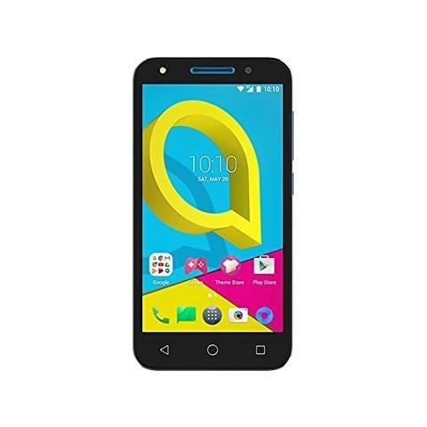 """ALCATEL A5 HD 5 LTE Nero 8 GB 4G / LTE Dual Sim Display 5"""" HD Slot Micro SD Fotocamera 8 Mpx Android Italia"""
