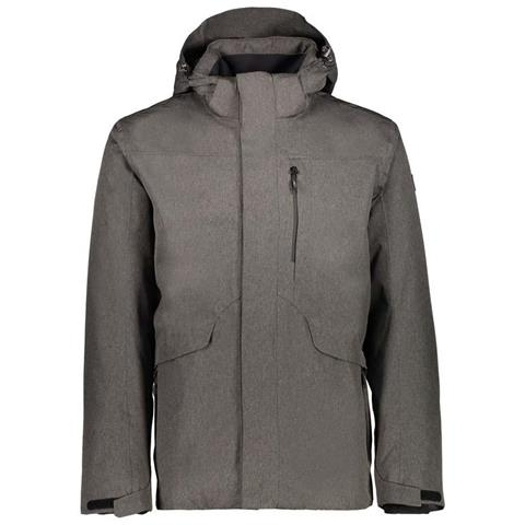 Giacche Cmp Man Long Jacket Zip Hood Abbigliamento Uomo 56