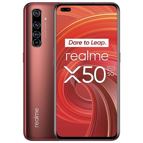 X50 Pro Rosso 256 GB 5G Dual Sim Display 6.44'' Full HD+ Fotocamera 64 Mpx Android