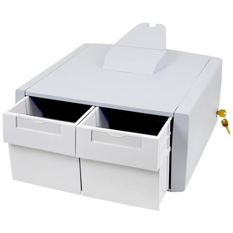 Cassetto Portaoggetti StyleView Colore Bianco e Grigio
