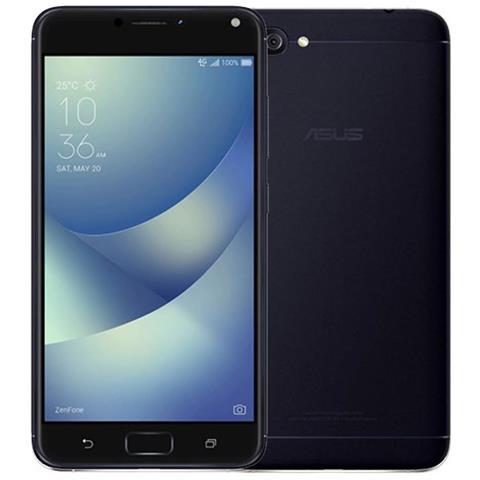 """ASUS Zenfone 4 Max Nero 32 GB 4G / LTE Display 5.5"""" HD Slot Micro SD Fotocamera 13 Mpx Android Tim Italia"""