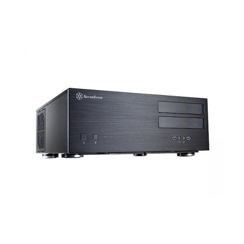 Image of Case GD08 HTPC Desktop SSI-EEB, SSI-CEB, E-ATX, ATX, Micro-ATX Colore Nero