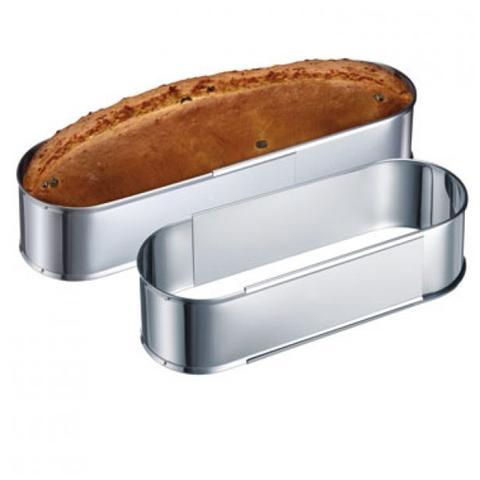 Forma ovale regolabile per pane o dolci