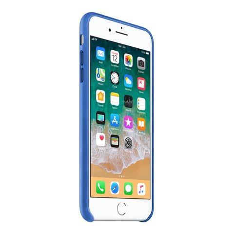 APPLE Cover in Pelle per iPhone 7 colore Blu elettrico