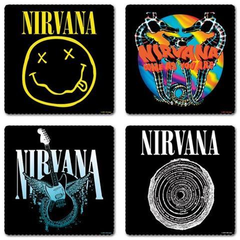 Nirvana - Set Of 4 (set 4 Sottobicchieri)