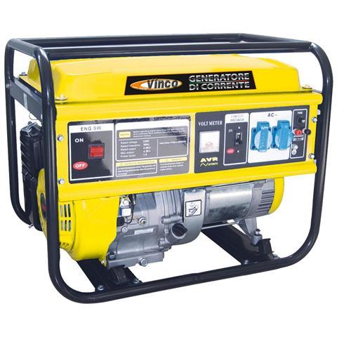 Image of Generatore Monofase Hh-5500, Carrellabile,